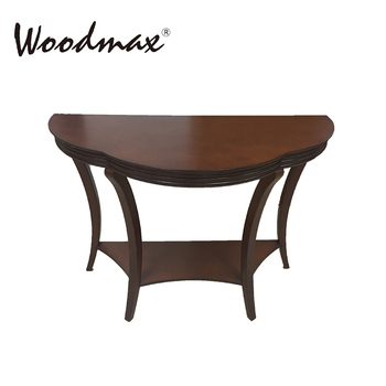 WSF054 Walnut Half Moon Hobby Lobby Modern Console Table New Products Best  Quality
