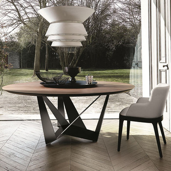 Kitchen Table Modern Metal Legs Manufacturers Round Wood Dining View Shann Product Details From Foshan City