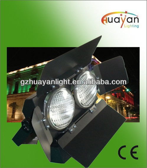 High quality 650w 2 lamps 1300w 2 eyes stage lighting audience blinder