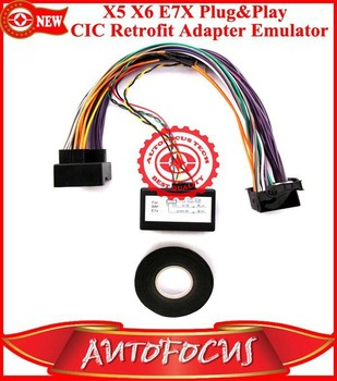 New X5 X6 E70 E71e7x Plug And Play Cic Retrofit Adapter Emulator ...