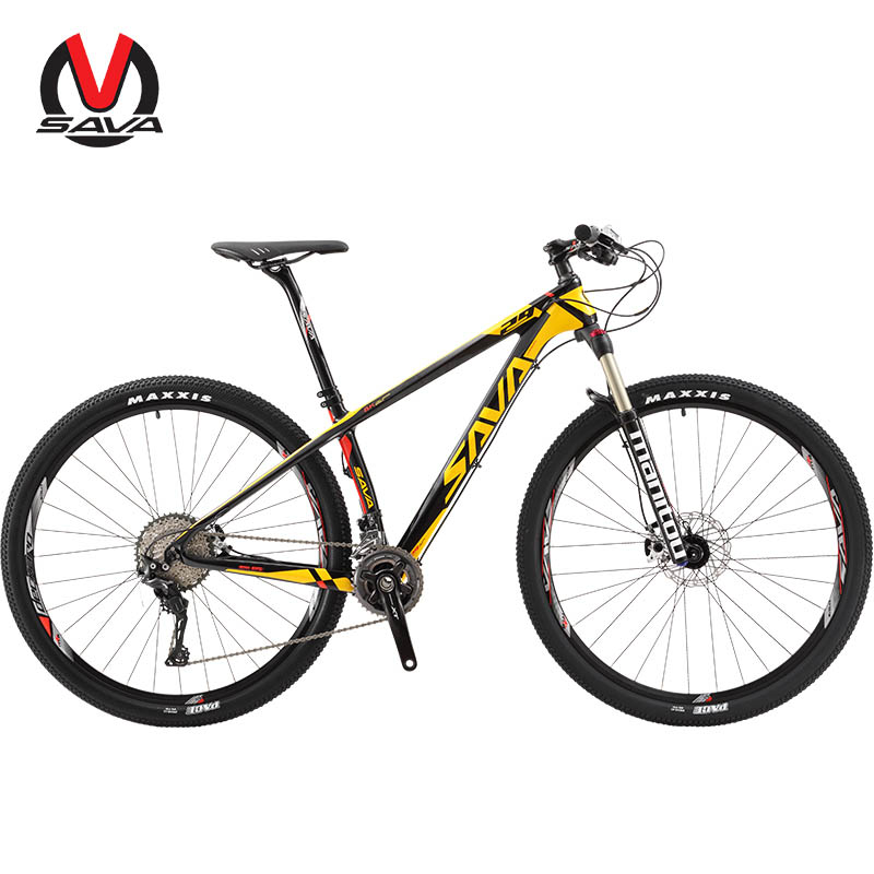 Adult 29er carbon mountain bike china , ISO china bicycle factory supply carbon fibre bike with CE, Black white;black yellow;black grey