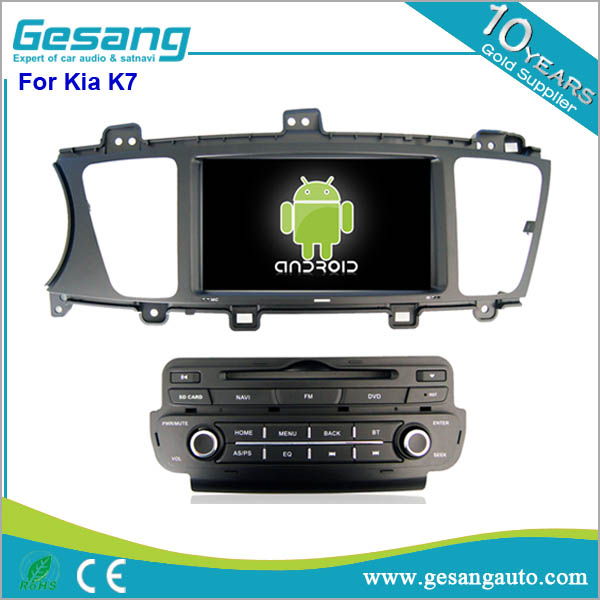 Built-in GPS,touch screen android car radio double din car dvd for Kia K7