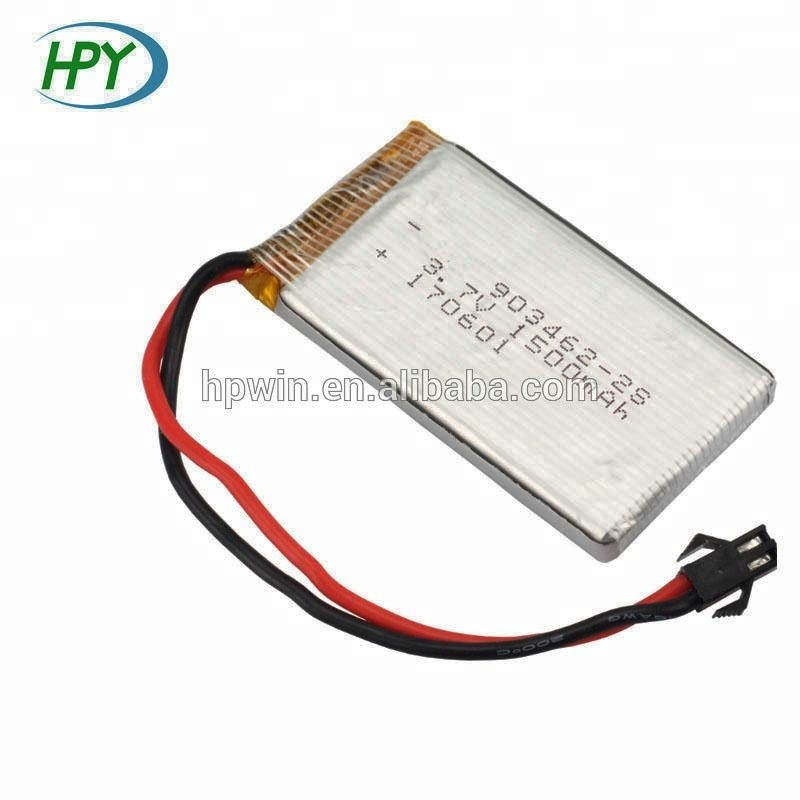 3.7v li-polymer lithium polymer battery 903462 1500mah rc helicopter lipo battery
