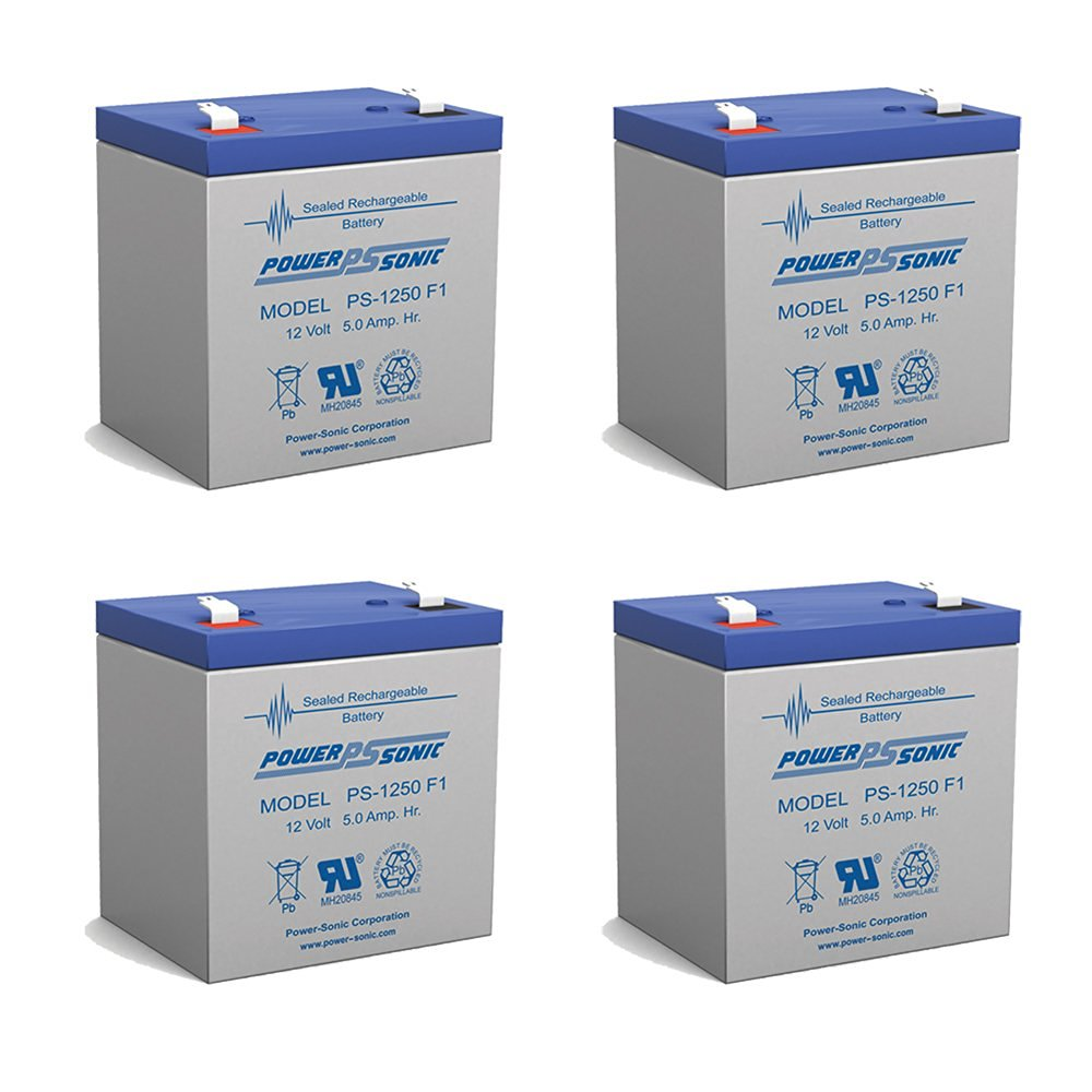 12V 5AH UPS Battery Replaces BB BP4.5-12 and Enersys Genesis NP5-12 batteries
