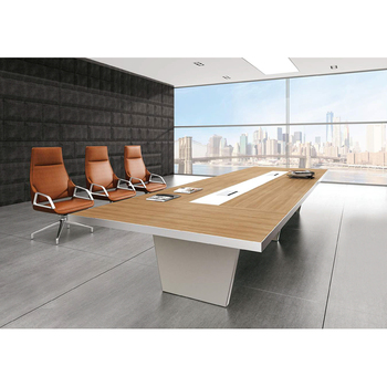 Chinese Modular Modern 12 Person Office Conference Table Meeting Table Conference