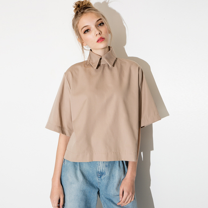 Women's collar shirts are tailored to fit a women's body. Shop our collection of women's casual shirts where we offer everything from women's oxford shirts and denim shirts to women's short sleeve shirts and 3/4 sleeve shirts.