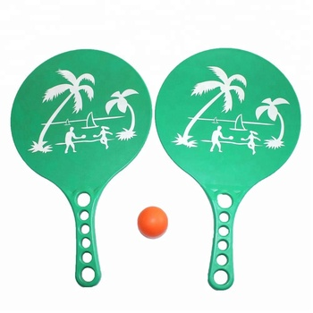 Dayung Bola Set Pantai Raket Tenis