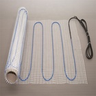 Electric central heating underfloor heating mat system