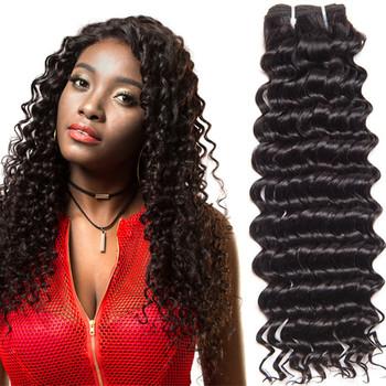 Leyuan Custom Darling Soft Dread Deep Wave Easy Weft Hair Extension