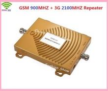 GSM/3G 900/2100MHZ Full-duplex Single Port Built-in Power LED Light ALC Mobile Phone Signal Amplifier Repeater
