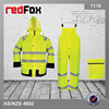 high visibility reflective custom womens rain wear