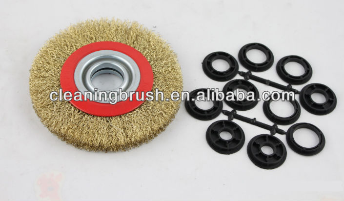 good quality brass wire wheel polishing cup brush