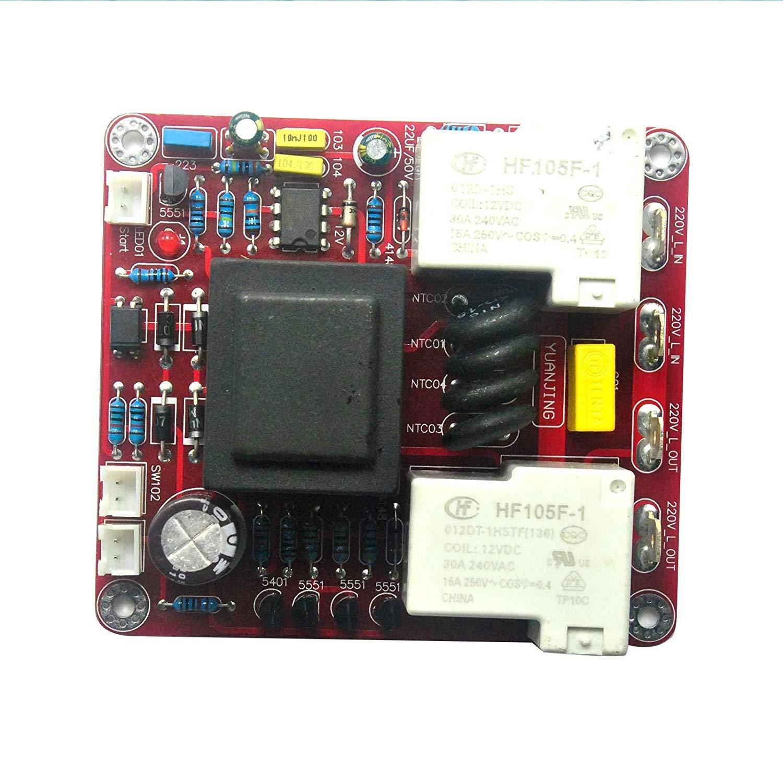 Class A 220V Auto Power Delay Soft-start Temperature Protection Board DIY