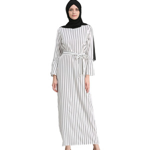 2018 Modest Fashion Islamic Clothing Maxi Abaya Collection,Turkey Long Strap Loose Muslim Daily Dress