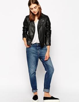 Women Ladies Fashion Stylish Sexy Premium Genuine Leather Jacket ...