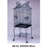 High quality plastic wire cage foldable pet cage bird cage tray