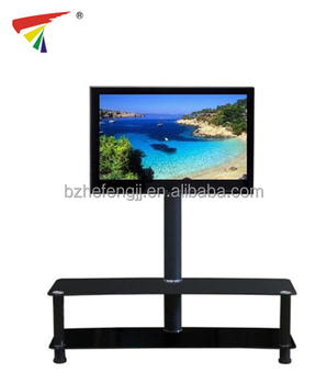Moderne En Verre Portative Menee Meuble Tv Tv Table D Angle Pour Salon Chambre Buy Meuble De Television Moderne Meuble De Television En Verre Table