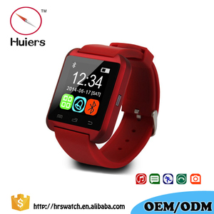 Factory price Bluetooth 4.0 smartwatch u8 smart watches for Smartphone