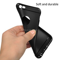 DFIFAN Phone Accessory Slim TPU Case for iphone 6, best selling products 2017 Matte Black for iphone Apple 6s Case