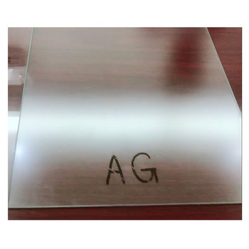 Well quality low reflective tempered glass Anti-glared glass