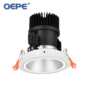 Low power 3w led spotlight lamp seiko aluminium heat sink led cob spotlight white+black housing led ceiling spotlight