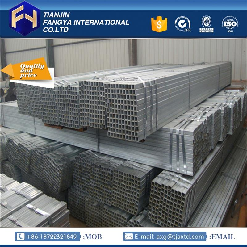 "Steel price per kg shs square hollow section gi pipe!2""x2"" galvanized square tube"