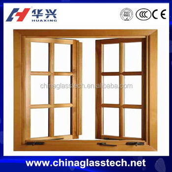 Customized Reflective Glass Modern Insulated Glass Out-opening Swing ...