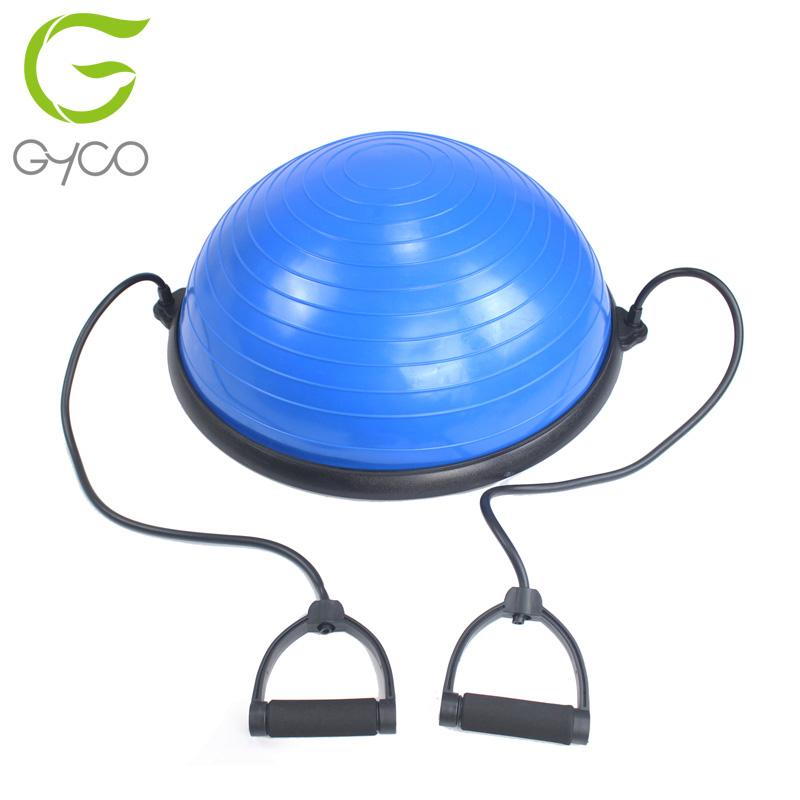 yoga balance ball trainer with resistance bands foot pump halfyoga balance ball trainer with resistance bands foot pump half balance ball
