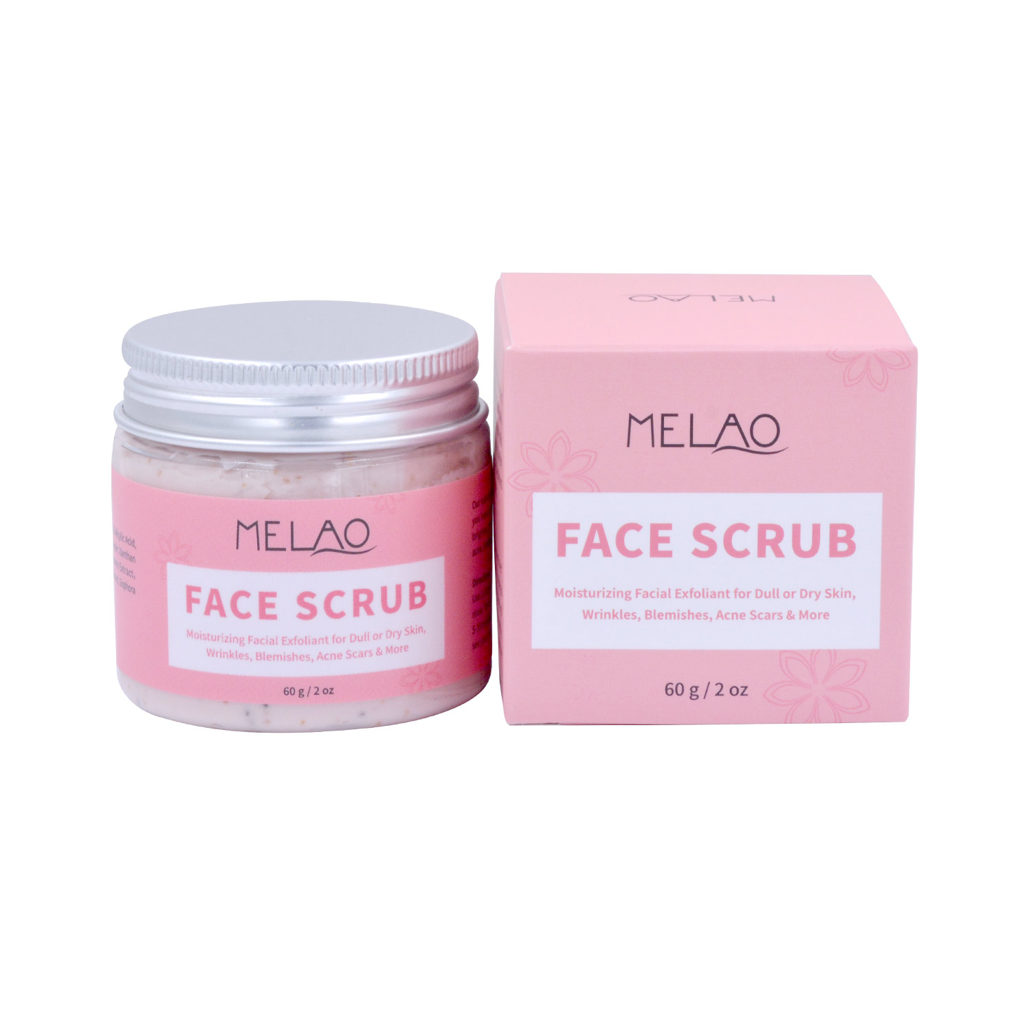 Factory Wholesale Face and Body Scrub Dead Skin Removal Skin Refresh Exfoliating