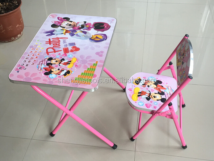 Children Study Writing Table Adjustable Study Desk