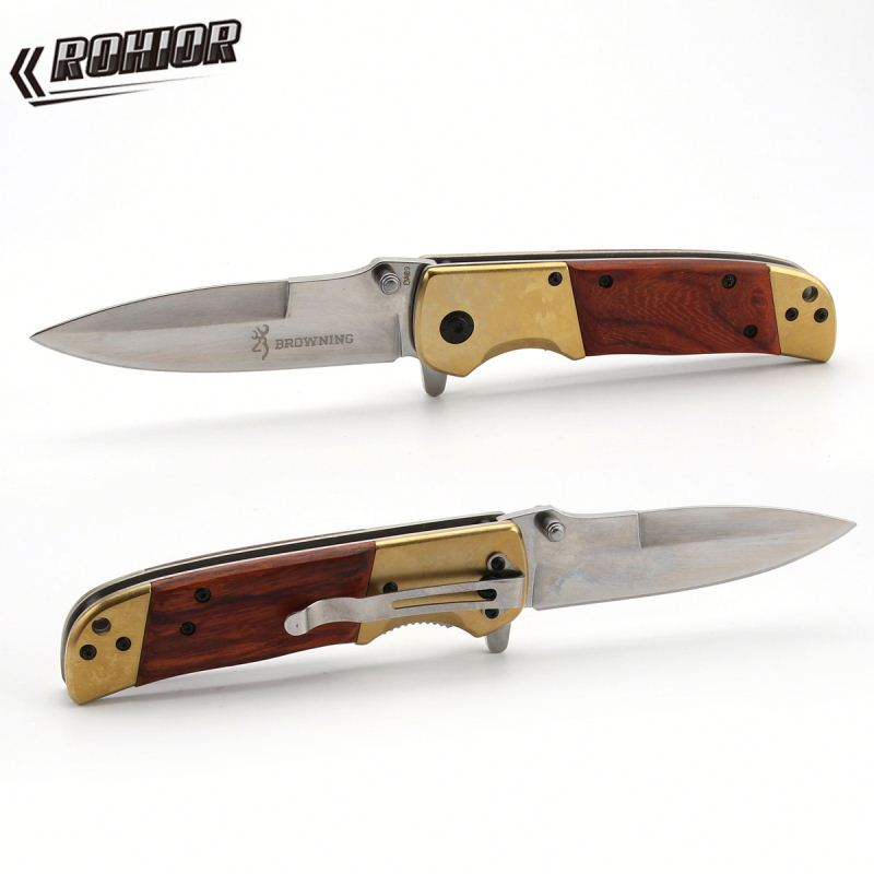 Browning DA69 combat pocket Tactical tool <strong>knife</strong> hunting utility outdoors Survival folding camping <strong>knives</strong>