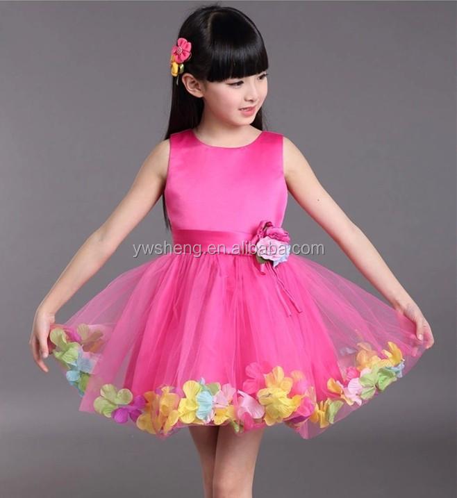 New Little Girl Party Wear Western Dresses Baby Girl