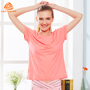 High Quality Women Sports T- Shirt Casual Short Sleeves Top