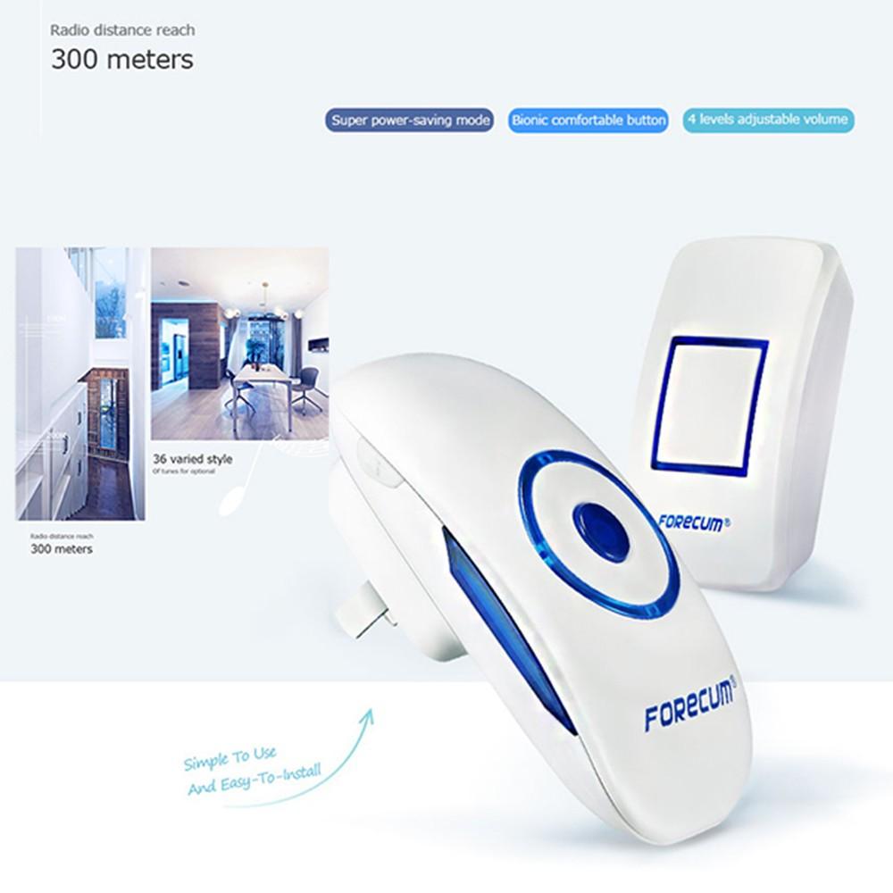 Digital Industrial Doorbell Wireless,Electronic Ring Bell Wireless ...