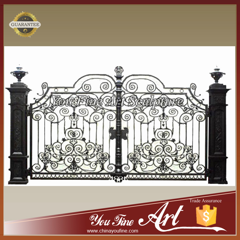 French Design Iron Gates For Sale