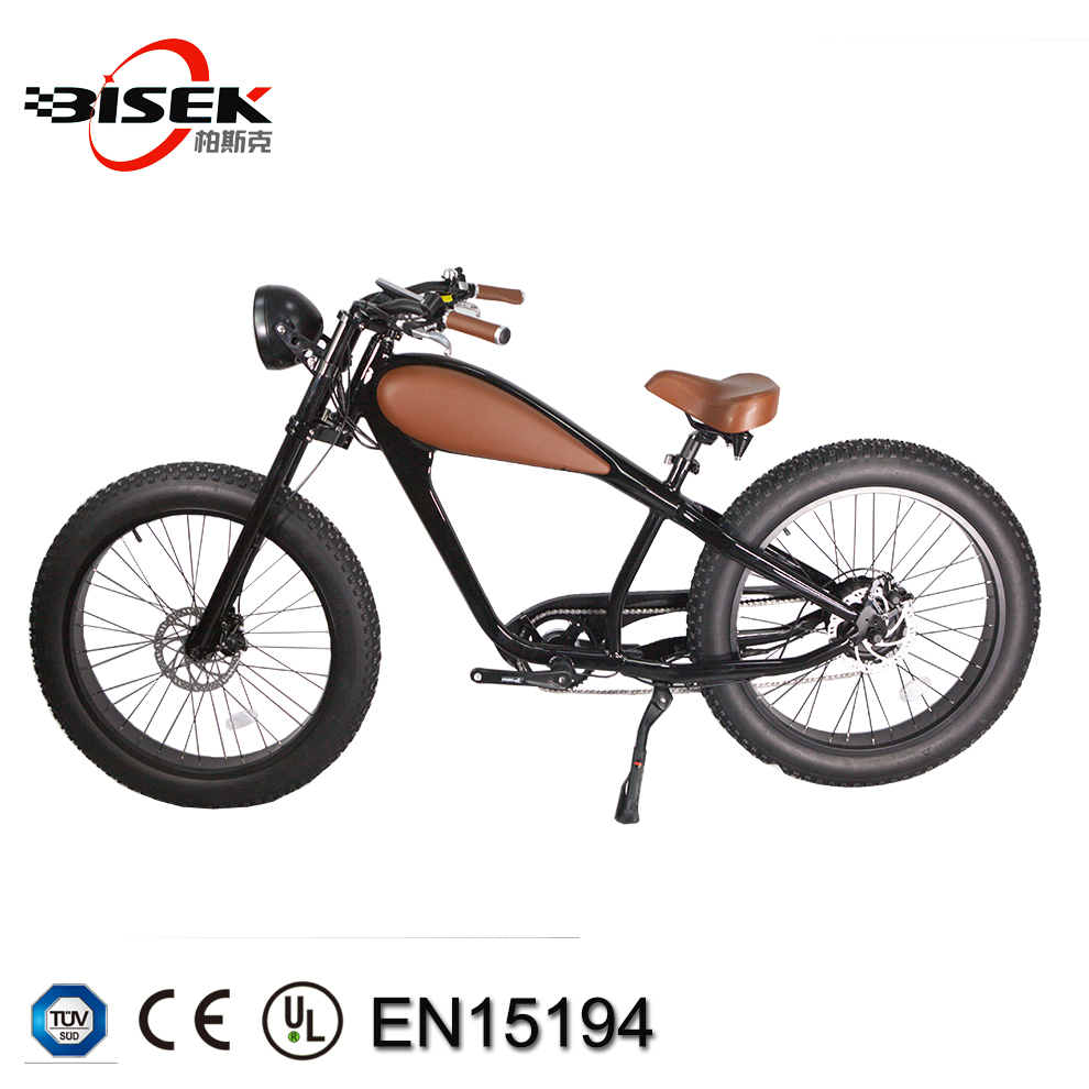 Chopper electric fat bicycle Bicicleta elétrica retro vintage e bicicleta