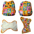 JinoBaby Natural Bamboo Cloth Nappy Cloth Diaper Newborn to Toddler Babies Pocket Cloth Diapers 4KGS TO
