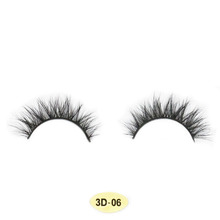 Hand made Private Label Lashes 100% 3D Mink Fur Gorgeous Eyelashes for Salon