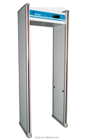 waterproof walkthrough metal detector / airport metal detector durable with alloy & pvc construction TE-SD1