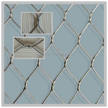 stainless steel aviary nets/bird netting wire mesh/rope fence made in Anping