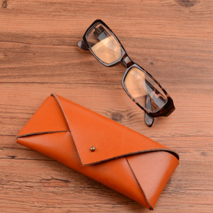 Best Selling PU Leather Eyewear Protective Personalized Slim Glasses Case