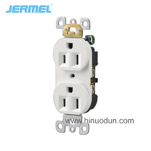 Duplex receptacle tr slotted 20 amp 220v 20a receptacle 20a switch socket outlet