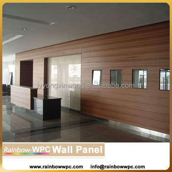 Decorative Interior Wall Paneling wpc pvc indoor wall panel cladding,wood-plastic composite wpc