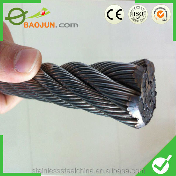 fiber core or steel core Stainless Steel Wire Rope for oill drilling