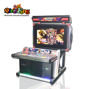 Qingfeng coin operated fighter uncaged 3D street fighter arcade machine wholesale arcade games video game machines