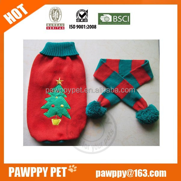 pet dog christmas sweater