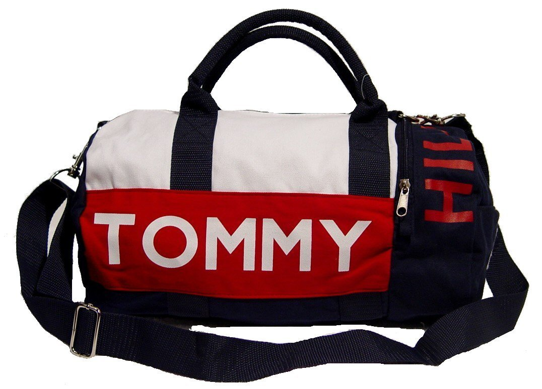 Buy Tommy Hilfiger Mini Duffle Bag Gym Bag Handbag Bag in Cheap ...