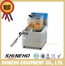 W170 deep fryer for fried chicken/economical commercial pressure fryer/advanced electric deep fat fryer