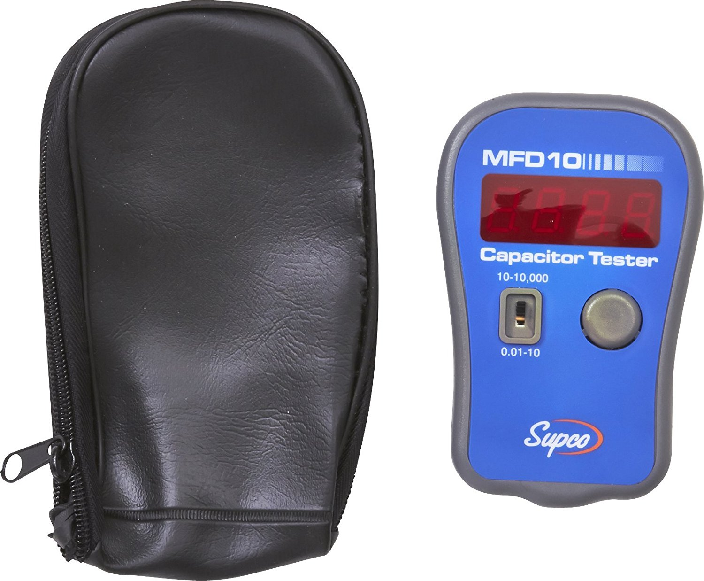Sealed Unit Parts MFD10 LED Display Digital Capacitori Tester