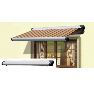 2.5x1.5m Retractable Semi-cassette aluminum Frame Window Awnings